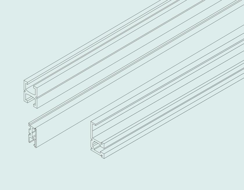 ピクチャーレール線画