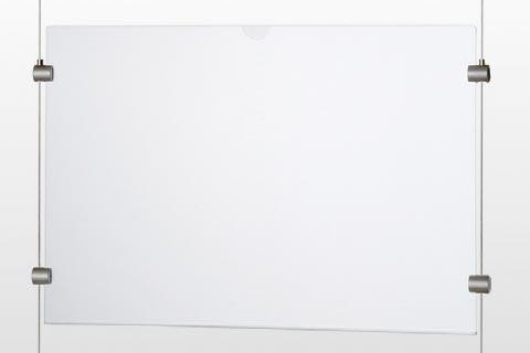 アクリルパネル一体型